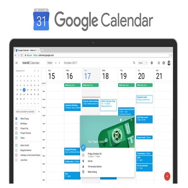 Alternativa a Google Calendar