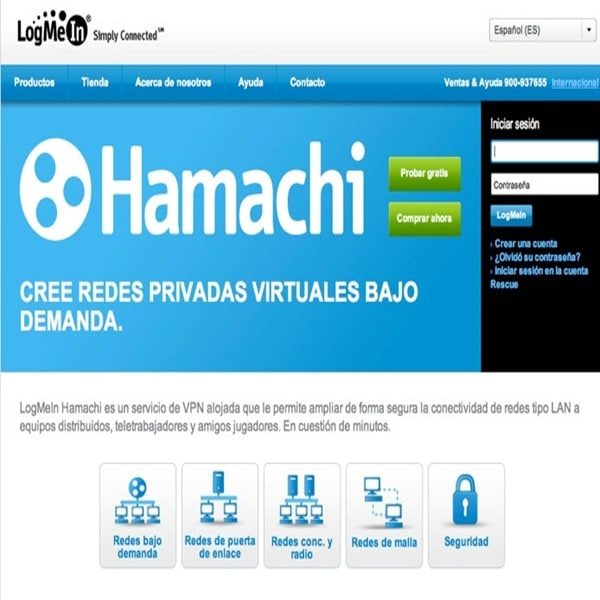 Alternativa a Hamachi