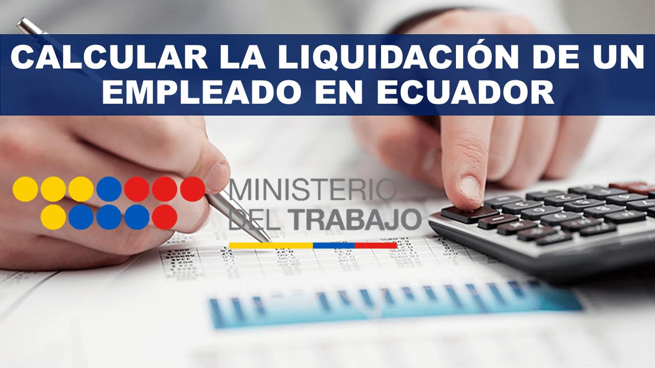 Calculo de liquidación