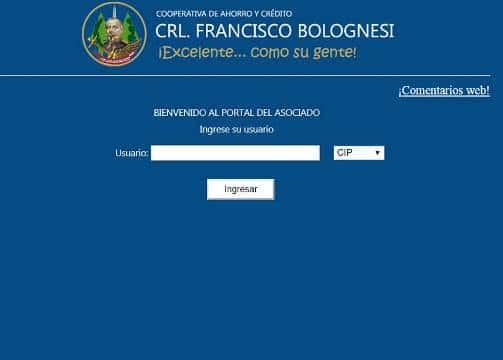 cooperativa bolognesi estado de cuenta