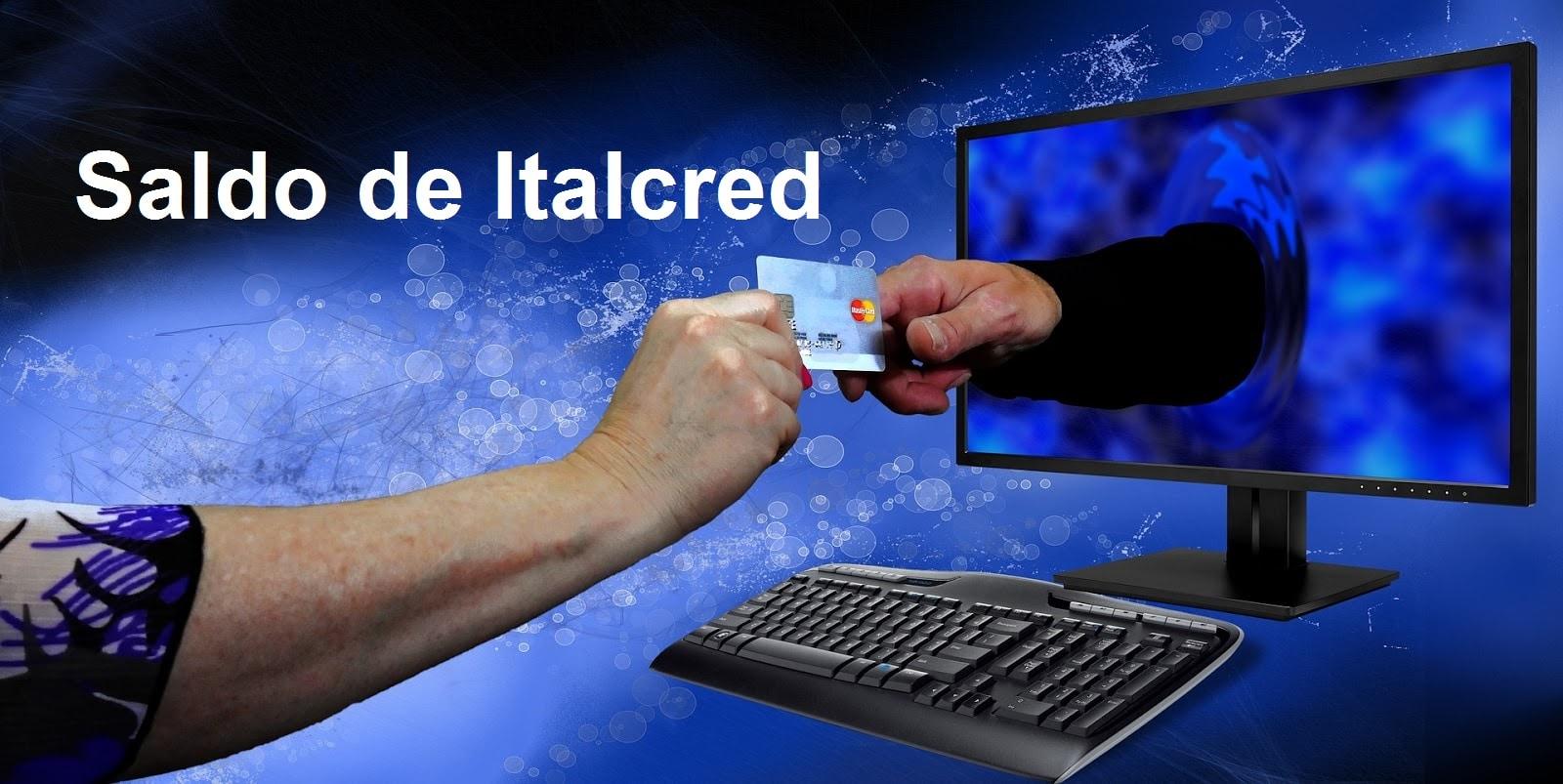 saldo de Italcred