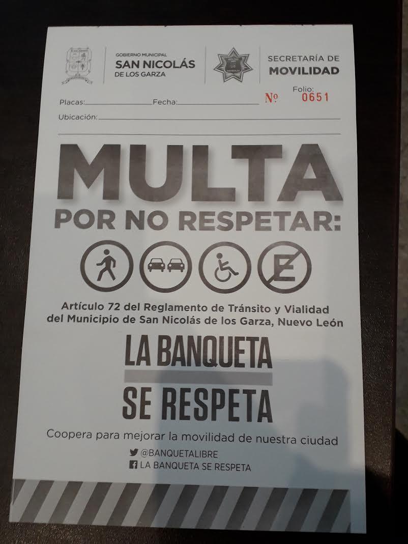 multas de tránsito San Nicolás