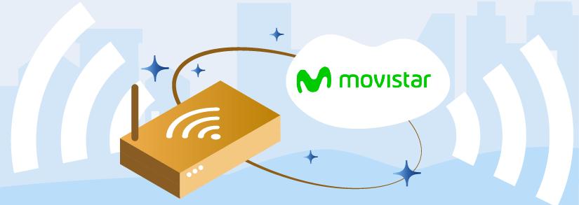 cambiar contraseña módem Movistar